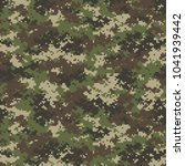 camouflage seamless pattern.... | Shutterstock .eps vector #1041939442