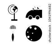 icon cosmos with space  planet  ...   Shutterstock .eps vector #1041996682