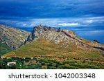 "evia  ""euboea""  island  greece. ... | Shutterstock . vector #1042003348"
