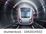 vector illustration of train... | Shutterstock .eps vector #1042014532