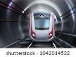 vector illustration of train... | Shutterstock .eps vector #1042014532