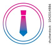 retro label fashion necktie for ...   Shutterstock .eps vector #1042014886