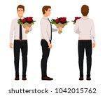 vector illustration of three... | Shutterstock .eps vector #1042015762