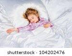 beautiful girl sleeps | Shutterstock . vector #104202476