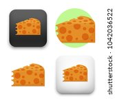 flat vector icon   illustration ... | Shutterstock .eps vector #1042036522