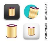 flat vector icon   illustration ... | Shutterstock .eps vector #1042036615
