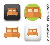 flat vector icon   illustration ... | Shutterstock .eps vector #1042037566