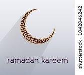 ramadan kareem islamic arabic...   Shutterstock .eps vector #1042046242