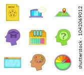 optimized code icons set....   Shutterstock .eps vector #1042069012