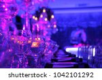 wedding hall or other function... | Shutterstock . vector #1042101292