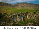 a panorama of the city of... | Shutterstock . vector #1042130026