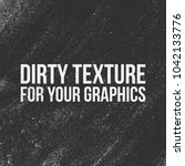 dirt vector texture for your... | Shutterstock .eps vector #1042133776