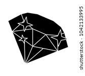 diamond stone icon   vector... | Shutterstock .eps vector #1042133995