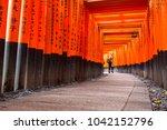 kyoto  japan   november 10 ... | Shutterstock . vector #1042152796