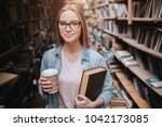 smart and clever student is... | Shutterstock . vector #1042173085