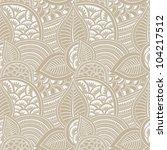 mahndi seamless pattern   Shutterstock .eps vector #104217512