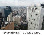 tokyo  japan   october 17  2017 ... | Shutterstock . vector #1042194292