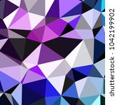 awesome geomeric abstract... | Shutterstock . vector #1042199902