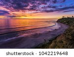 swamis surf break  encinitas... | Shutterstock . vector #1042219648