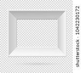 presentation rectangular... | Shutterstock .eps vector #1042230172