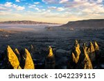 mist over the mystical... | Shutterstock . vector #1042239115