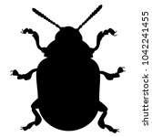 colorado beetle  insect  pest ... | Shutterstock .eps vector #1042241455