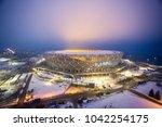 9 march  2018. volgograd ... | Shutterstock . vector #1042254175