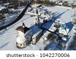 aerial view of the church of... | Shutterstock . vector #1042270006