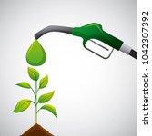 biofuel ecology alternative | Shutterstock .eps vector #1042307392