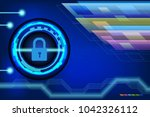 abstract background for digital ... | Shutterstock .eps vector #1042326112
