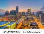 austin  texas  usa downtown... | Shutterstock . vector #1042326622