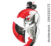 Geisha  Women In Traditional...