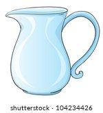 Illustration of a glass jug