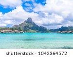 bora bora island  french...   Shutterstock . vector #1042364572