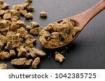 Small photo of brown sugar lump