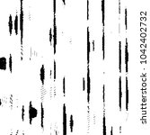 grunge halftone black and white ... | Shutterstock . vector #1042402732