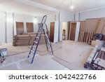 interior of apartment  during... | Shutterstock . vector #1042422766