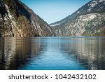beautiful views of the mountain ... | Shutterstock . vector #1042432102