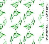 watercolor pattern  seamless... | Shutterstock . vector #1042451848