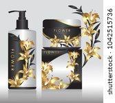 packaging cosmetic beauty...   Shutterstock .eps vector #1042515736