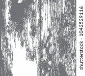 grunge rusted wooden damaged... | Shutterstock .eps vector #1042529116