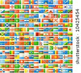 the national flags background   Shutterstock . vector #10425454