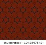 modern seamless geometric... | Shutterstock .eps vector #1042547542