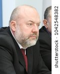 Small photo of MOSCOW, RUSSIA - FEBRUARY 26, 2013: Russian statesman, Doctor of Law, Professor, State Duma member of the VII convocation, former Minister of Justice of Russia Pavel Krasheninnikov.