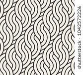 vector seamless pattern. modern ... | Shutterstock .eps vector #1042572226