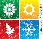 vector illustration of season... | Shutterstock .eps vector #104258396