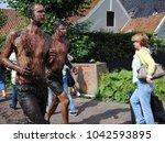broek in waterland  the... | Shutterstock . vector #1042593895