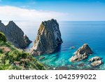 a superb view of the cape of... | Shutterstock . vector #1042599022