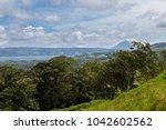 beautiful shot of the volcano... | Shutterstock . vector #1042602562
