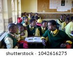 ethalaneni primary school ...   Shutterstock . vector #1042616275